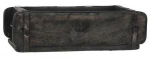 Trälåda - Gammal Murstensform - ca 31 x 15 cm - www.frokenfraken.se
