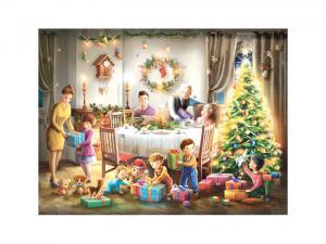 Adventskalender - Family - A3 - 27 x 36 cm - www.frokenfraken.se