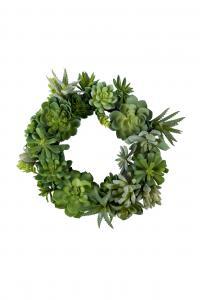 Succulentkrans - Grön - Ø30 - www.frokenfraken.se