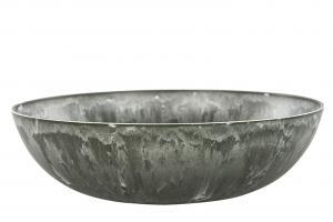 Skål - Concrete - Grå - 38 x 10 cm - www.frokenfraken.se