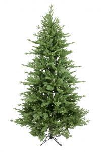 Julgran med belysning - Vålådalen - 210 cm - 500 lampor - www.frokenfraken.se