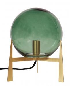 Milla Bordslampa - Guld/Grön 28cm - www.frokenfraken.se