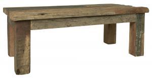 Soffbord - Återvunnet trä - 45 x 120 cm - www.frokenfraken.se