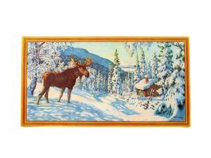 Julbonad - Älg - 39 x 21 cm - www.frokenfraken.se