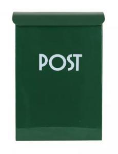 Postlåda Mörkgrön - 17 x 7,5 x 25 cm - www.frokenfraken.se