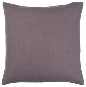 Kuddfodral - Linne - Purple - 50 x 50 cm - www.frokenfraken.se