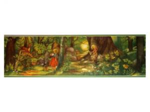 Bonad - skogen - 26 x 86 cm - www.frokenfraken.se