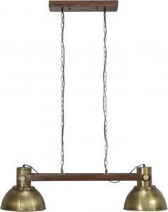 PR Home Taklampa - Industri Dubbel - Ashby Pale Guld - 110 cm