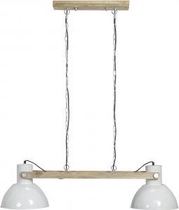 Taklampa - Industri Dubbel - Ashby Pale White - 110 cm - www.frokenfraken.se