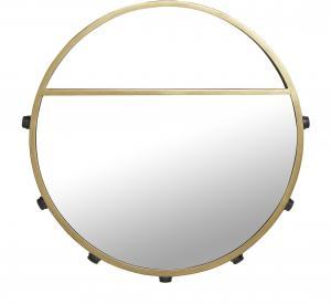 Bea spegellampa - Svart/guld 60cm - www.frokenfraken.se