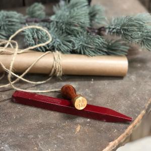 God Jul-stämpel & Lackstång - www.frokenfraken.se