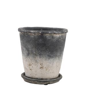 Kruka - Shade Grey - Ø 14 cm - www.frokenfraken.se