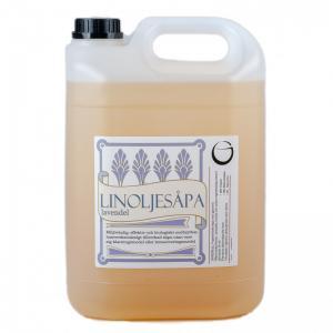 Linoljesåpa - 5 liter - lavendel - www.frokenfraken.se