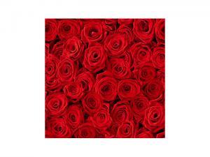 Servett - Röda Rosor - 33 x 33 cm - www.frokenfraken.se