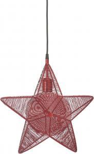 Rigel Stjärna - Röd 40cm - www.frokenfraken.se