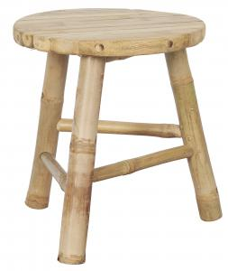 Stolar - Bambu - 35 x Ø30 cm - 2-pack - www.frokenfraken.se
