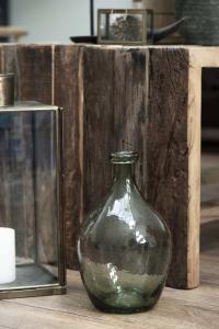 Vas - Glas - Grön - Ø17 x 28 cm - www.frokenfraken.se
