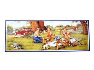 Bonad - picknick - 91,5 x 34 cm - www.frokenfraken.se