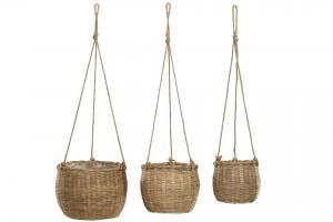 Amplar - Bambu/Jute - 3 storlekar - www.frokenfraken.se
