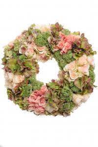 Mr Plant Krans - Rosa Lime - 50 cm