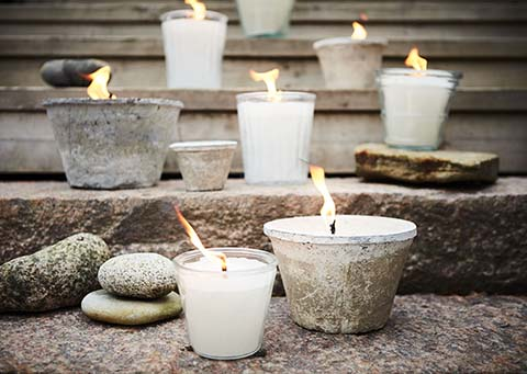 Outdoor Candle -